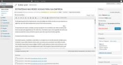 wordpress gerenciador de conteúdo cms
