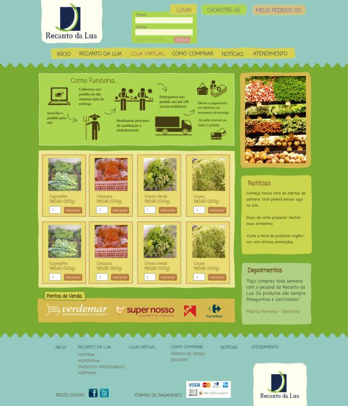 fazenda recanto da lua alimentos orgânicos