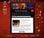Campanha de Popularização Teatro e Dança espetaculos