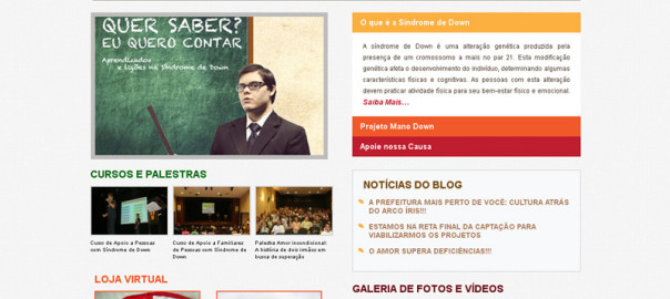 Portal Mano Down Website
